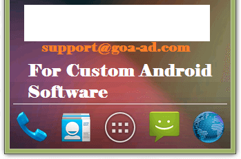 Custom Made Android Software with SMS Integration