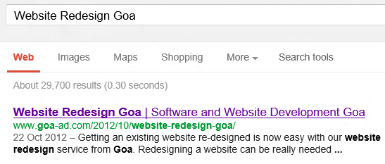 Get Website on Top of Google Search Results