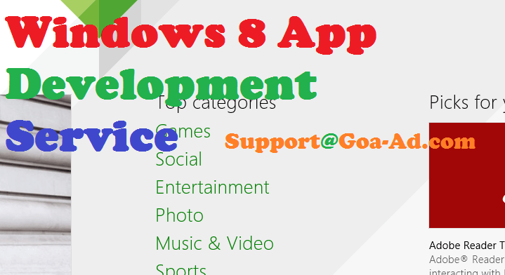 Windows 8 Application Development Service